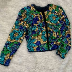 Vintage Sequence blazer for Women